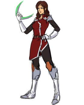 Phantasy Star IV Fangame - Alys Update Concept by ultema