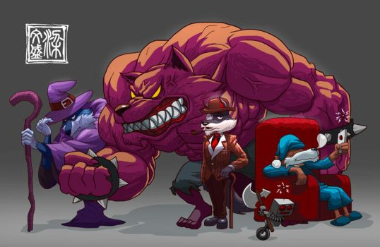 Character Compilation Commisions 2 by Wenart
