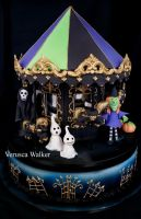 halloween carousel by Verusca