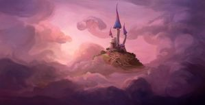 Whimsical Castle by purrskill