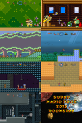 Super Mario Bros Doomsday Screenshots (Nov 2013) by BuzzNBen