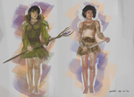 Figure Costume Studies 01 by totopc