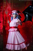Touhou Project : Remilia Scarlet by kyashii4