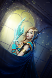 Blood elf by Narga-Lifestream