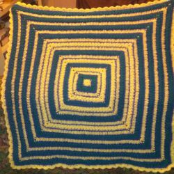 Starry Night Baby Blanket by Kitonet