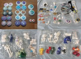 In stock Sale (BJD items and miniatures) by silverbeam