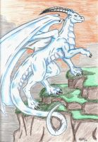 White Dragon by Twylyght99