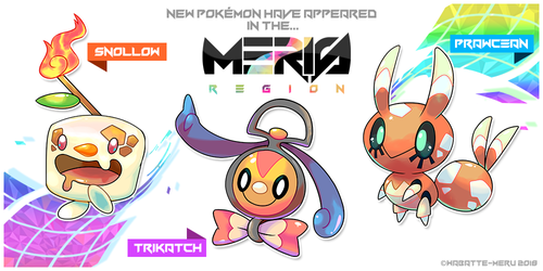 Meris Region Pokemon 7 by Wabatte-Meru