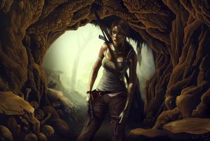 Tomb Raider Entry by Kalifa