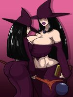 Purple Witch by Tourin17