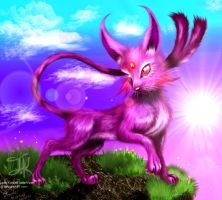 Detailed Espeon by Jade-Viper