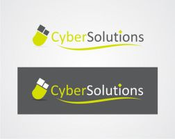 cyber solutions logo design by jwd987