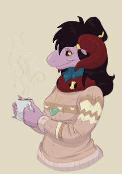 Soft Sweaters N Hot Chocolate by Squidub