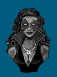 Bust: Dazzler by frogman354