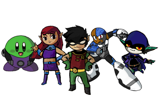 Toon Titans by Petertwnsnd