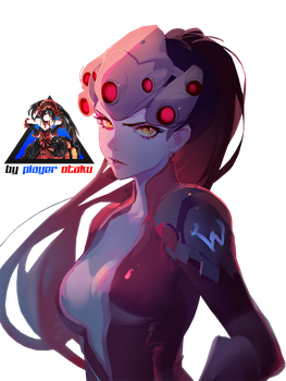 Overwatch Widowmaker Render HD by PlayerOtaku