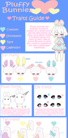 Pluffy Bunnies traits guide CLOSED SPECIES by AS-Adoptables