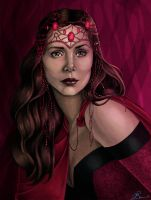 Scarlet Witch by JGiampietro