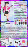Callie (Character Sheet) by Strayhowl