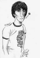 Keith Moon Attempt 2 for Lindsey. by jellyandjamXD