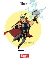 Mighty Marvel Month of March - Thor by tyrannus