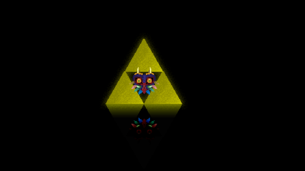Majora Mask Pixel art Full Hd by brunosly