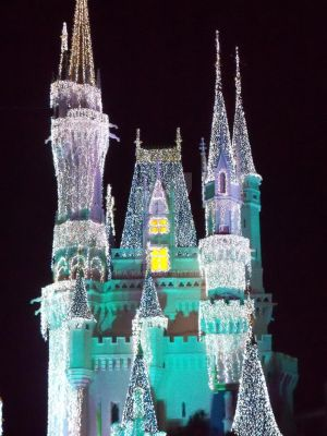 The Castle at Night by Kisa-Kain