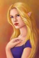 Elf Painting by TanyaGreece
