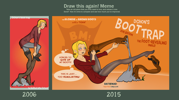 Draw This Again - The Boot Trap! by BatMad