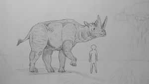 Monster Island Expanded: Arsinoitherium by Trendorman