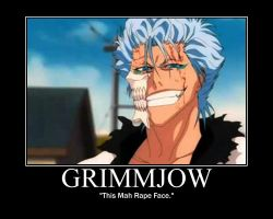 Grimmjow: Rape Face by KittyWillCutYou
