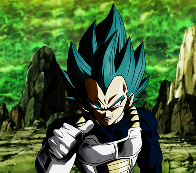 Defend your pride prince of saiyans. (EDIT) by SourSaltTM