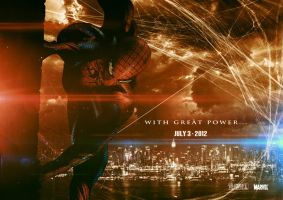 Amazing Spiderman 2012 Poster by 12FortyTwo