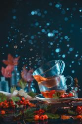 Two cups of Fall by dinabelenko