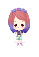 Commission - Tiny chibi Aspen (2/3) by Wild-Fluff