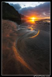 Serpentine Sunset by aFeinPhoto-com