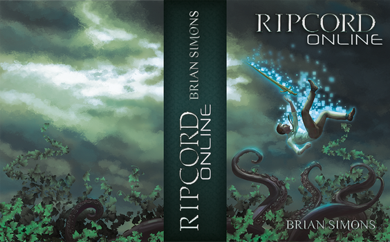 Ripcord Online Book Cover Artwork and design by undeadcrabstick
