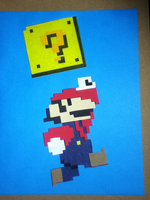Composition with Point - Super Mario by athorment