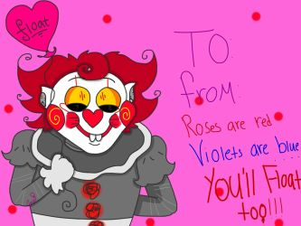 Valentine's card #3-pennywise by corajbae09