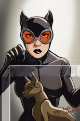 Surprised Catwoman by Yunyin