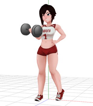 [MMD] RWBY Ruby Rose download by ericksens