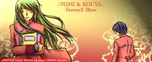 Yomi and Kouya - Farewell Blow by uepu