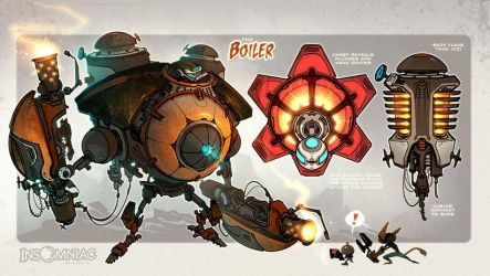 The Boiler! by CreatureBox