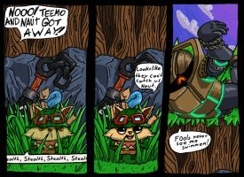 Naut and Teemo comic by Space-khD