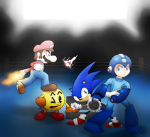 Clash of gaming's titans ! -Old- by PotterzillaSeries
