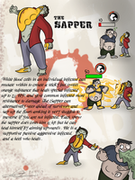 Left 4 dead OC The Sapper by Nyanbonecrush