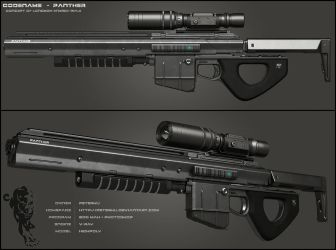 PANTHER Rifle - Secondary by peterku