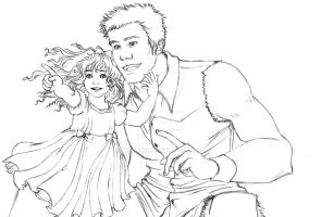 BD - Renesmee and Jacob by Olaunis