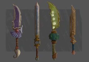 Swords Design by JuandaMR