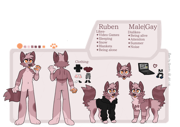 Ruben Ref Sheet by lloneWanderer